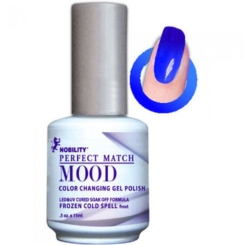 Lechat Perfect Match Mood Gel - Frozen Cold Spell 0.5 oz - #MPMG06