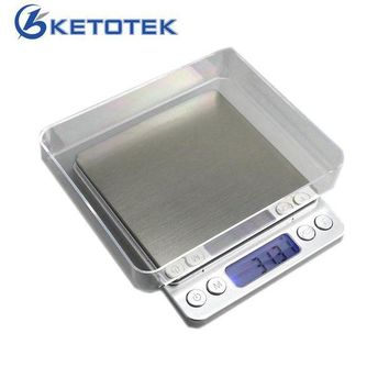 DCCKFS2 500g 0.01g Mini Precision Scales Digital Kitchen Scale Jewelry Weighing Balance