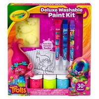 Crayola® Trolls Deluxe Washable Paint Kit : Target