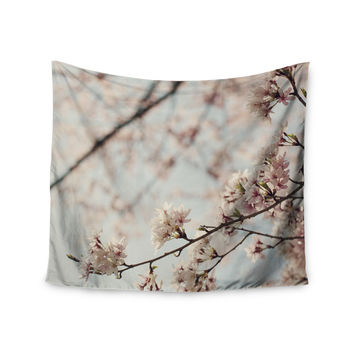 "Catherine McDonald ""Japanese Cherry Blossom"" Wall Tapestry"