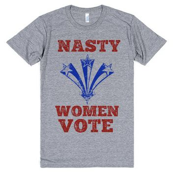 NASTY WOMEN VOTE | T-Shirt | SKREENED