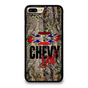 CAMO BROWNING REBEL CHEVY GIRL iPhone 4/4S 5/5S/SE 5C 6/6S 7 8 Plus X Case