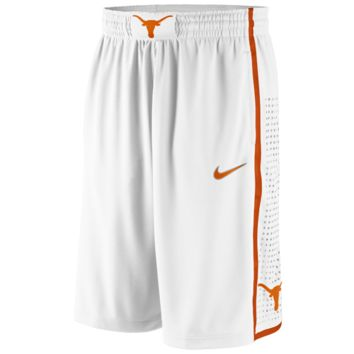 Nike Texas Longhorns Replica Basketball Shorts - White