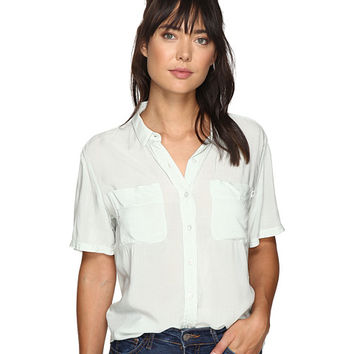 Obey St. Marina Button Down Shirt Sea Fog - Zappos.com Free Shipping BOTH Ways