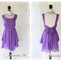 A Party  Dress  Prom Party Cocktail by LovelyMelodyClothing