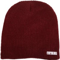 neff Men's Daily Beanie, Maroon, One Size