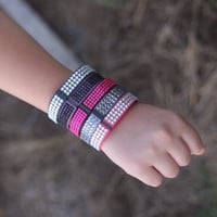 New Super Cute Jeweled Fitbit Flex Bands Choose Your Style Size And Color