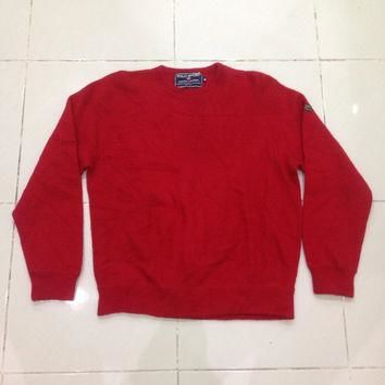 vintage POLO SPORT ralph lauren long sleeve sweatshirt / sweater / crewneck / knitwear