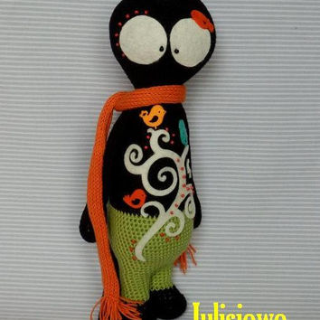 Crochet Cat Mruu..  PDF pattern