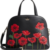 kate spade new york ooh la la poppy - lottie leather satchel | Nordstrom