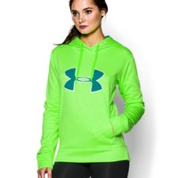 Under Armour Big Logo Applique Twist Hoody - Women's