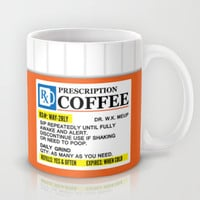 Prescription Coffee Mug Mug by CreativeAngel
