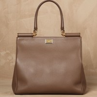 Deerskin north-south sicily bag Women - Bags Women on Dolce&Gabbana Online Store United States - Dolce & Gabbana Group