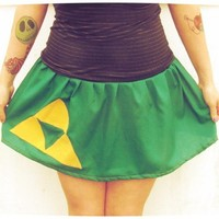 Custom tutu Skirt The Legend of Zelda inspired Link Triforce cosplay