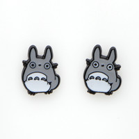 MF0677 New Animal My Neighbor Totoro Earrings for Women Cute Cartoon Earring Jewelry