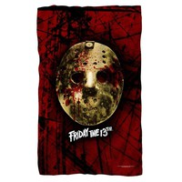 Friday the 13th/Bloody Mask Fleece Blanket