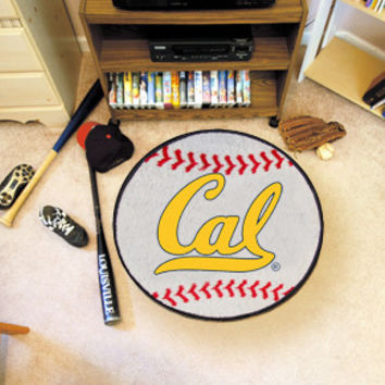 "California - Berkeley UC  University of Baseball Mat 26"" diameter"