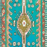 Young Yogi Magic Carpet Yoga Mat - Turquoise Traditional