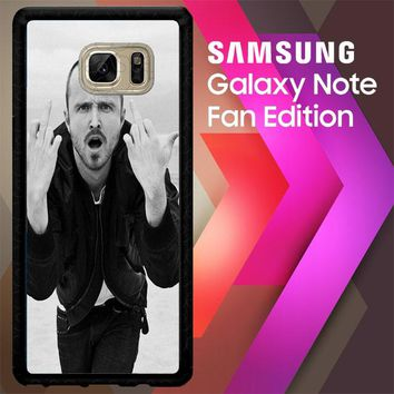 Aaron Paul 2 V0022 Samsung Galaxy Note FE Fan Edition Case