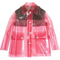Miu Miu - Two-tone PU jacket