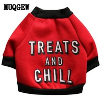 Humor Netflix and Chill Dog Outfit