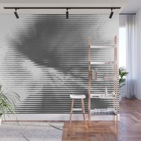 Grays Wall Mural by duckyb