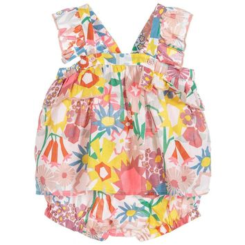 Stella McCartney Baby Girls Floral Summer Set