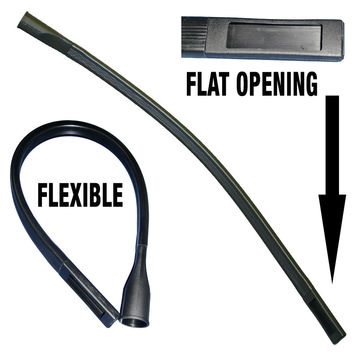 "Flexible 36"" Crevice Tool Attachment Refrigerator Coil Tool Fits most Vacuums"