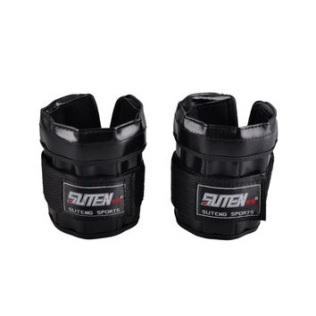 SUTEN sport Adjustable Hand legging Wrist Weights Sandbag training equipment 1-3kg Weight For Hands MMA gym Boxing for fitness