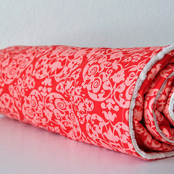 Baby Blanket Coral Vintage Ironwork by Michael by SirBubbadoo