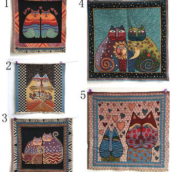 cat decorative pillow cotton linen fabric diy felt cloth for textile sewing patterns patchwork craft bag upholstery fabric tissu