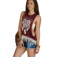 Sale-honkytonk Dream Lover Tank