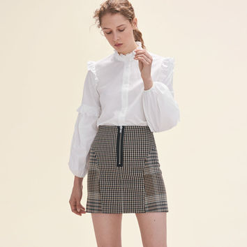 JOXY Checked skirt