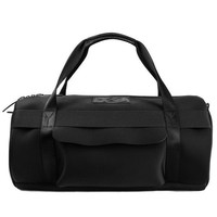 Round Black Neoprene Duffle Bag by Y-3