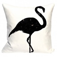 Strutting Flamingo Cushion from Bitten London | Made By BITTEN London | £75.00 | BOUF
