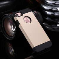 Tough Shockproof Hybrid Armor Case Cover for iPhone 4 4S 5 5S SE 6 6S 7 Plus TPU Hard Back New Slim Shell Armor Case Cover