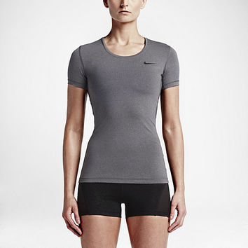 The Nike Pro Women's Short Sleeve Training Top.