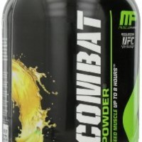Muscle Pharm Combat Powder Advanced Time Release Protein, Banana Cream, 2 Pound