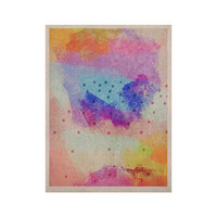 "Iris Lehnhardt ""Summer Pastels"" Multicolor Painting KESS Naturals Canvas (Frame not Included)"