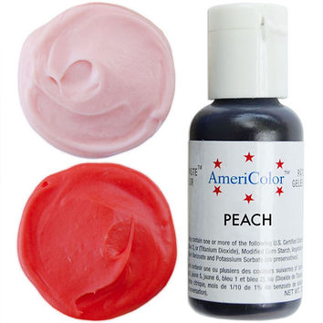 Peach Gel Paste Food Coloring