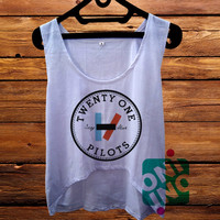 Twenty One Pilots Stay Alive crop tank Women's Cropped Tank Top