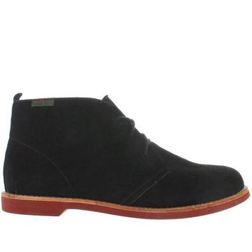 Bass Elspeth   Black Suede Chukka Boot