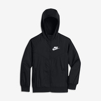 The Nike Sportswear Windrunner Big Kids' (Boys') Jacket.