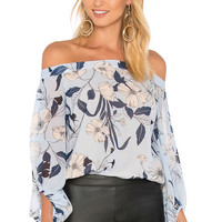 Bardot Poppy Floral Top in Floral | REVOLVE