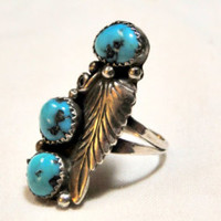 Taxco Sterling Dolphin Ring Onyx Accent Ocean Lover 925 Band Size 4.5 Signed Numbered