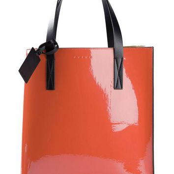 ONETOW Marni varnished shopper tote