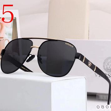 Versace Fashion Men Summer Sun Shades Eyeglasses Glasses Sunglasses