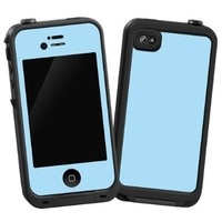 "Baby Blue ""Protective Decal Skin"" for LifeProof iPhone 4/4s Case"