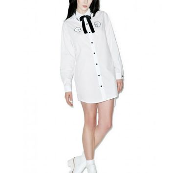 Lazy Oaf X Casper Friendly Dead Shirt | Dolls Kill