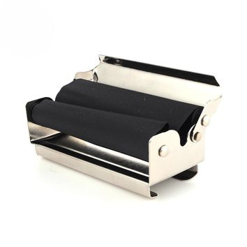 Cheap 70MM Hand Roller Portable Metal Cigarette Rolling Machine With Papers Holder JL-004C